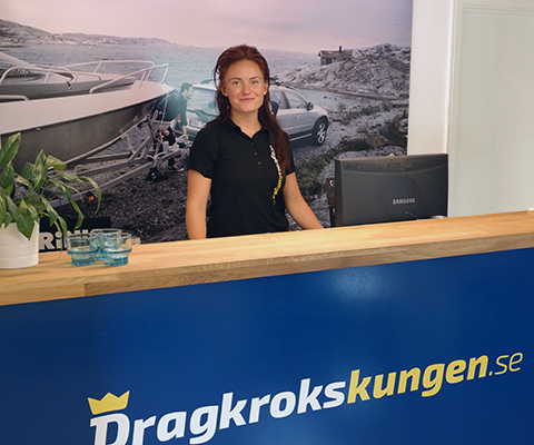 Dragkrokskungen reception dragkrok